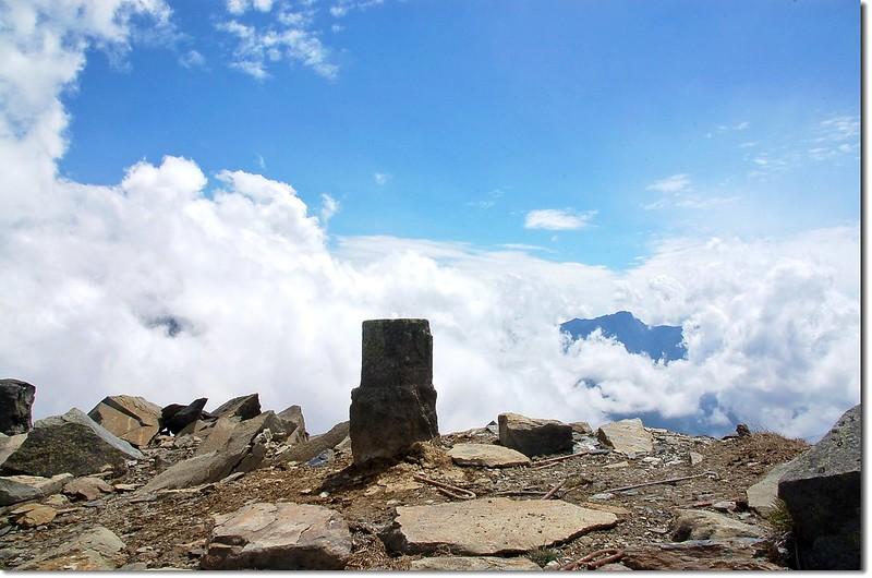 馬博拉斯山森林三角點(Elev. 3765 m) 1