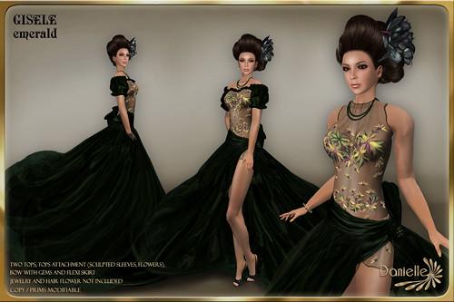 DANIELLE Gisele Emerald