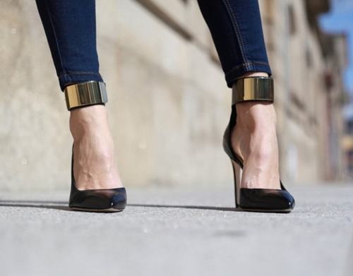 Ankle cuff