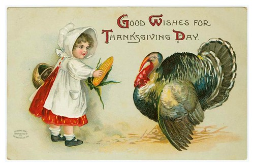 023-Thanksgiving Day old card- NYPL Digital Gallery