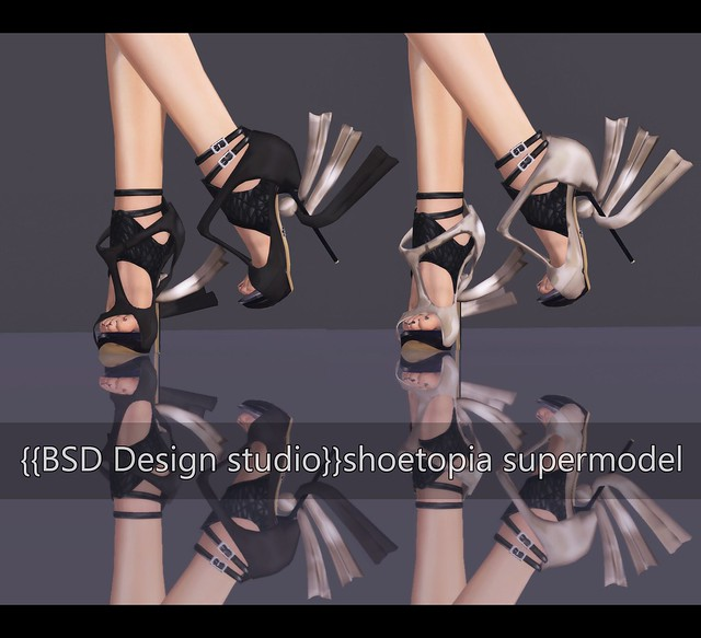 {{BSD Design studio}}shoetopia supermodel