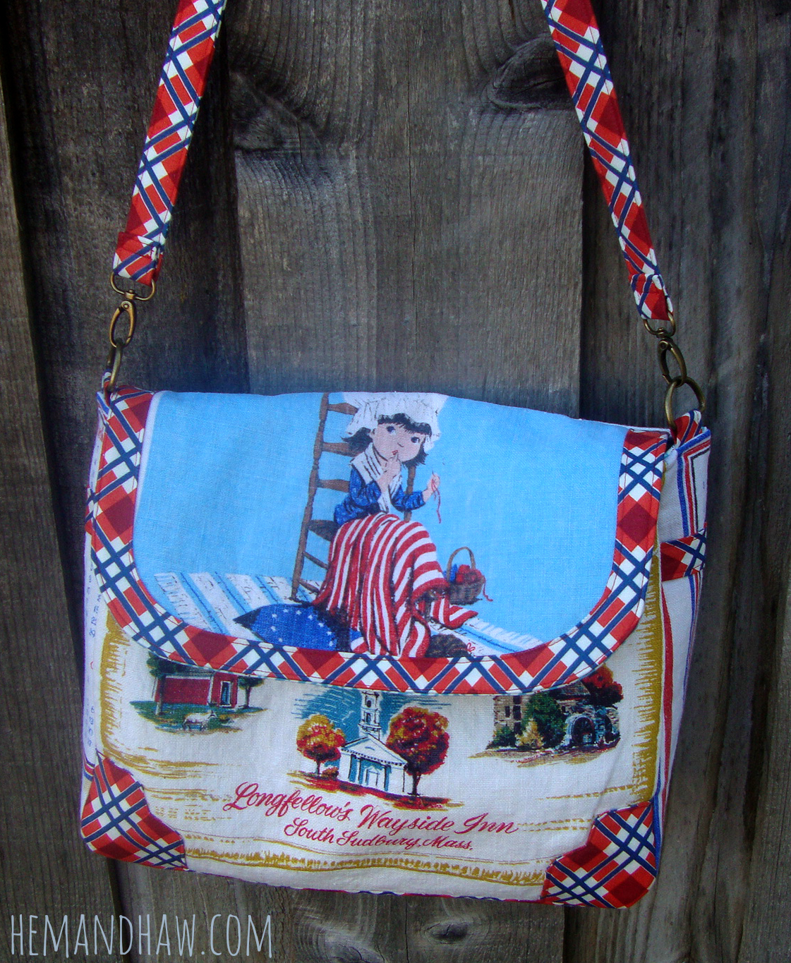 tea towel purse
