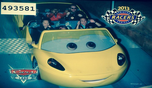 The crew at Radiator Springs