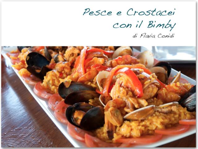 Ricetta paella di pesce col bimby