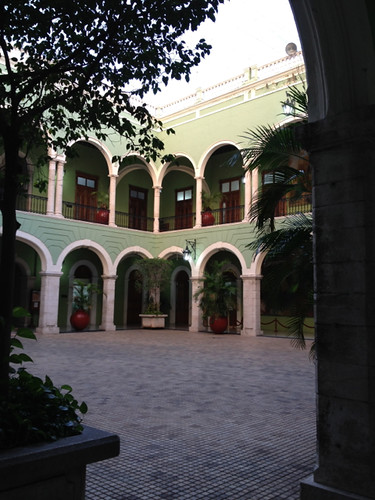Merida Governor's Palace courtyard