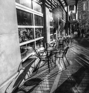Winter Sun On Chairs