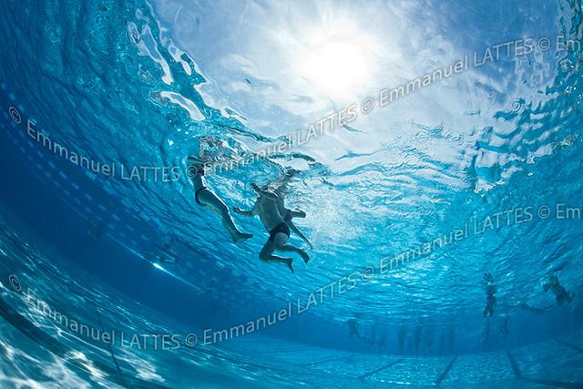 Baigneurs dans une piscine en ext rieur bellerive sur for Bellerive sur allier piscine