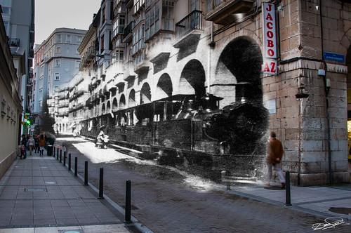 Santander. El tren de Pombo
