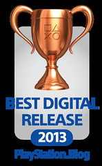 PlayStation Blog Game of the Year Awards 2013: Best Digital Release Bronze