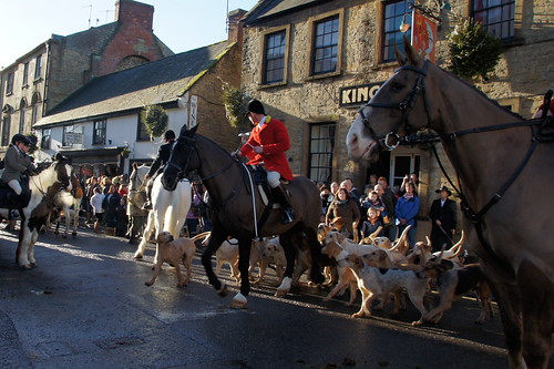 The Seavington Hunt at the Boxing Day Meet in Crewkerne by CharlesFred
