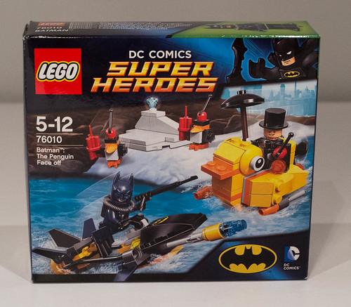 REVIEW LEGO 76010 Batman - L'affrontement avec le Pingouin
