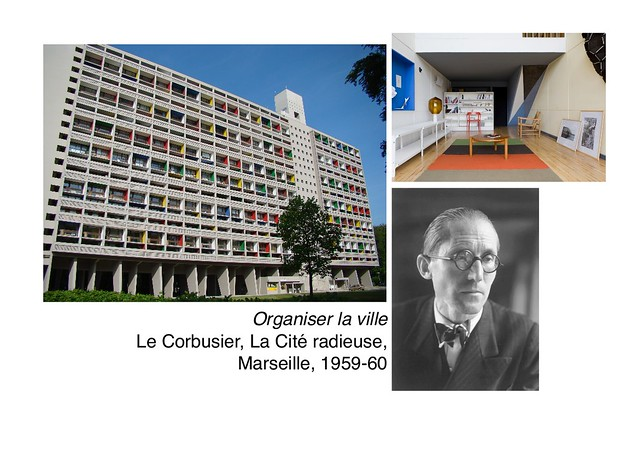 Le Corbusier, La Cité radieuse, 1959-60