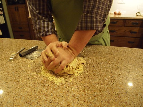 Making fresh pasta with friends - 15
