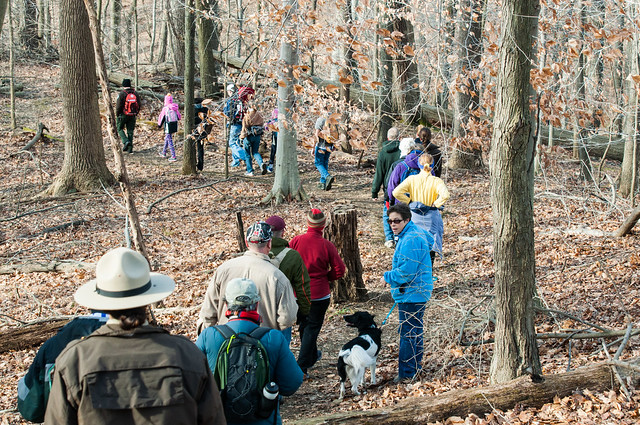 A First Day Hike at Patapsco Valley state Park