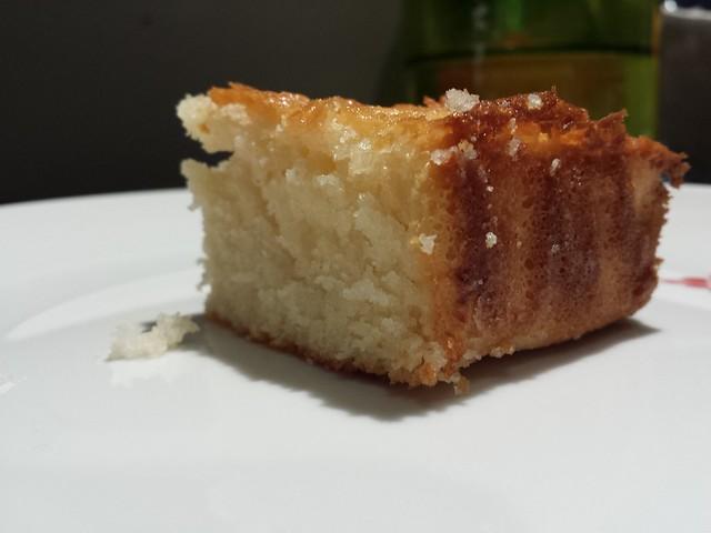 Butter Mochi corner