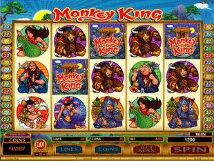 Monkey King Free Spins