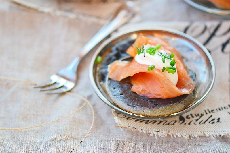 pancakes with sepia and salmon.11