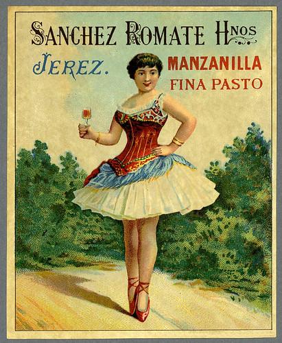 002-Etiquetas de bebidas. Figuras y retratos de mujeres-1890-1920- Biblioteca Digital Hispánica