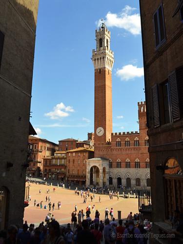 Plaza del Campo, en Siena