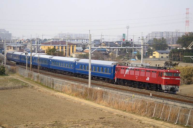 EF81-133+Passenger Car Series 24