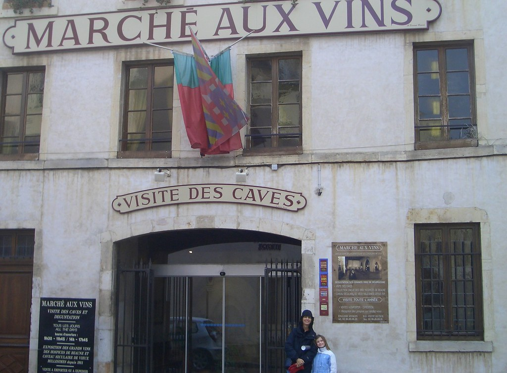 Beaune, Wine Caves
