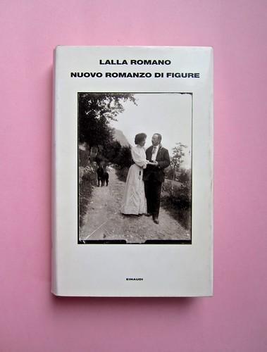 Lalla Romano, Nuovo romanzo di figure. Einaudi 1997. Responsabilità grafiche non indicate. Prima di sovracoperta (part.), 1