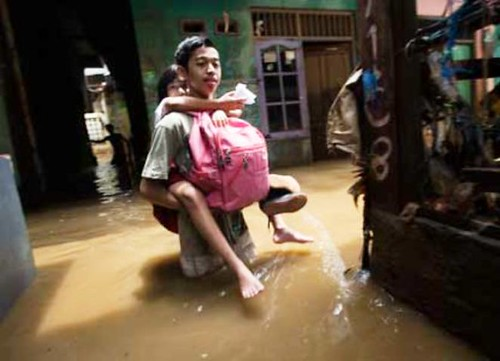 Jakarta Kembali Direndam Banjir