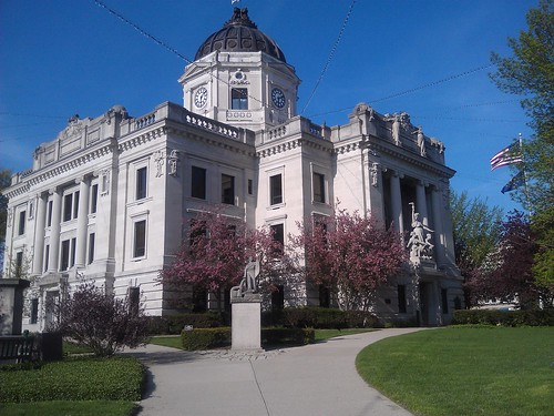 Monroe County Courthouse- Bloomington IN (1)