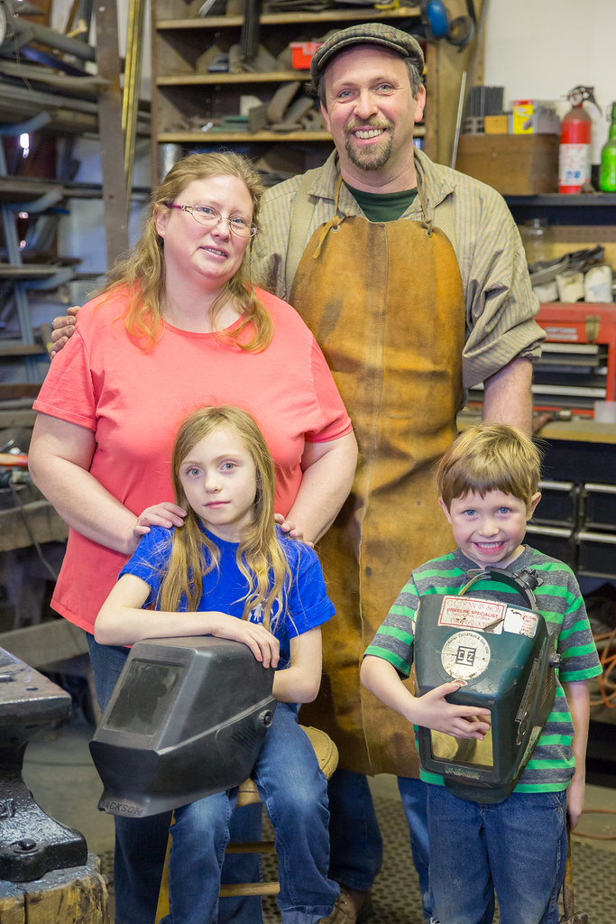 The Graves Family from Rockdale Forge Iron Works