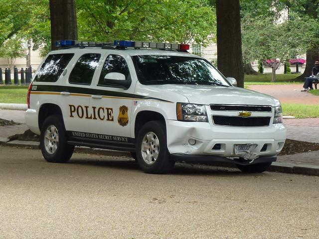 Us Secret Service Police 0133 United States Secret