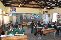 Mqolombeni Primary School - class