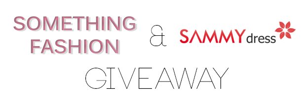 something fashion contest giveaway international open, sammy dress giveaway free fashion items worldwide, fashion blogger giveaway participations