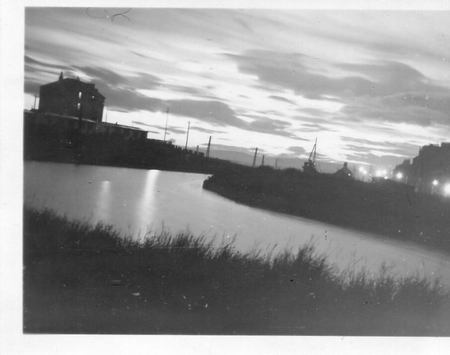 Canal Sunset, 1950s