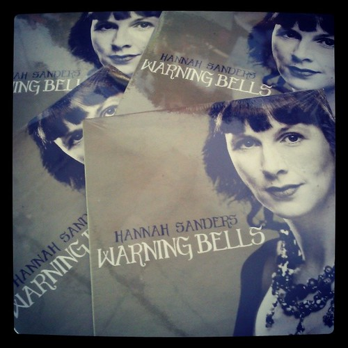 Hannah Sanders • Warning Bells EP cover