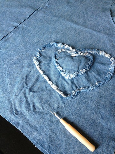 Denim Sundress - In Progress