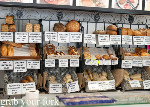 German breads and pastries from Brot and Wurst, North Narrabeen