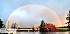 Bellevue rainbow - photo by kathy gill | Bellevue.com