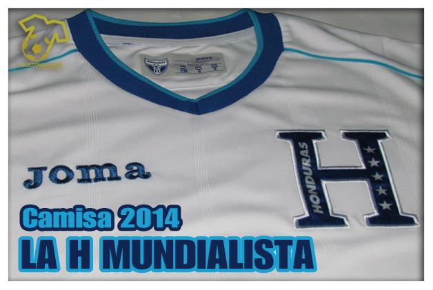 Camiseta Selección de Honduras Mundial 2014