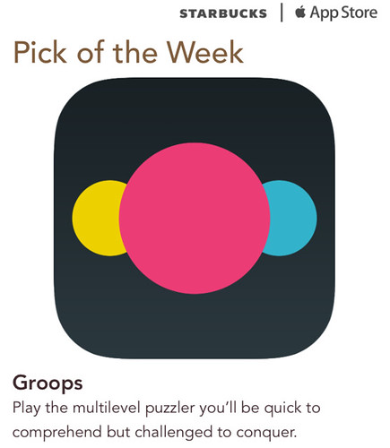 Starbucks iTunes Pick of the Week - Groops