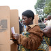A woman casts her vote on May 20, 2014 in Lilongwe Mpenu North, about 70km from Malawi's capital, Lilongwe. Credit: Mabvuto Banda/IPS