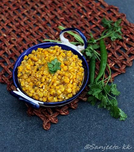 Makai Khichdi Gujarati recipe