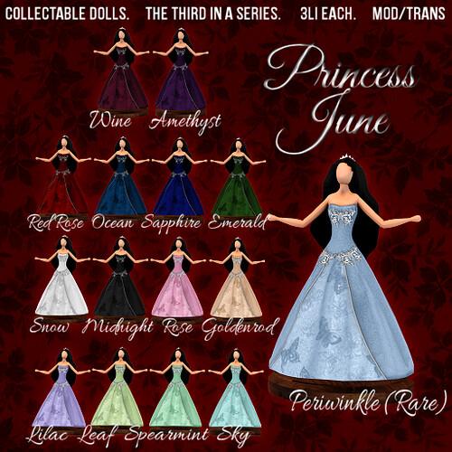 Princess June Dolls