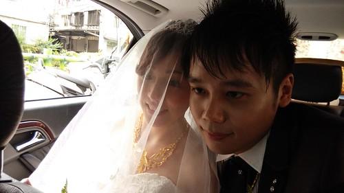 結婚禮車 優派租車2014/5/25 板橋-樹林迎娶