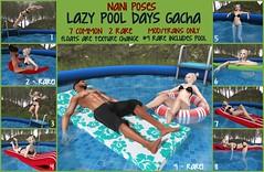 LAST DAY - Lazy Pool Days Gacha @ Oh My Gacha