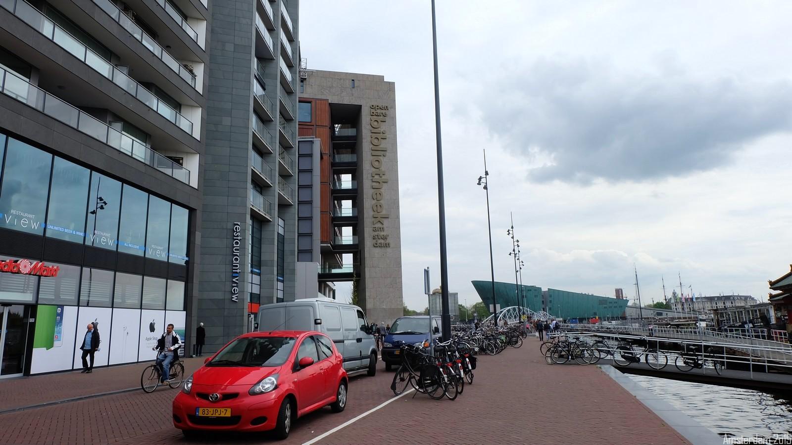 Oosterdokstade, Amsterdam, Nederland