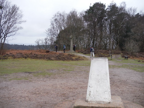 Gibbet Hill, Trigpoint and Celtic Cross