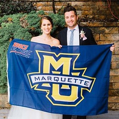 Did you meet your significant other at Marquette? We'd like to gather your Marquette love stories for Valentine's Day. Share your stories and photos in the comments or send us a private message. : Andrea Oren