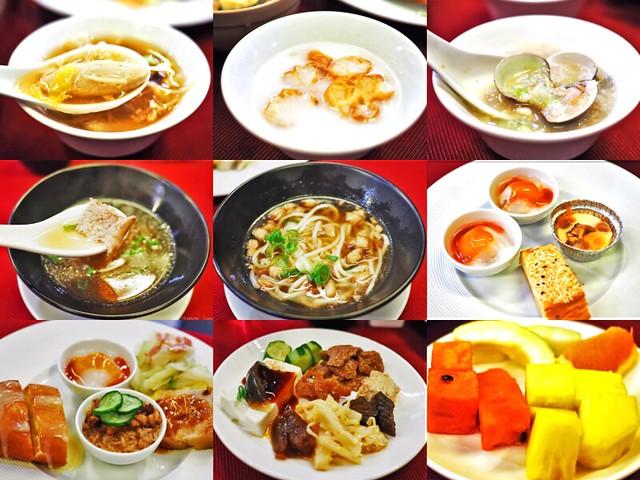 台南晶英酒店 中式早餐1