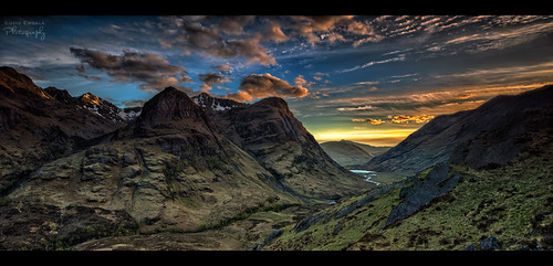 The Three Sisters, Glencoe, Scotland by xpfloyd