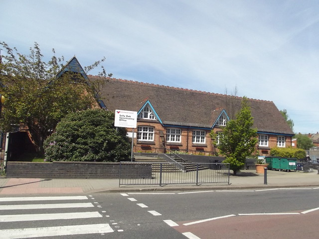 School with crossing